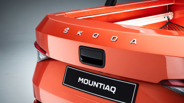 Skoda Mountiaq - rear detail