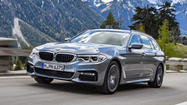 BMW 530d Touring - front tracking