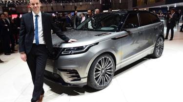 Range Rover Velar - Graham Hope's Geneva Motor Show star
