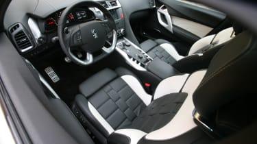 Citroen DS5 front seats