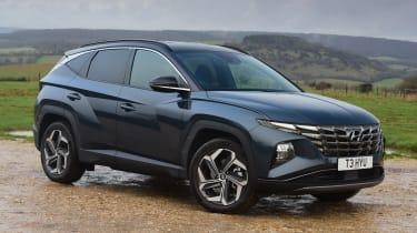 Hyundai Tucson - front static