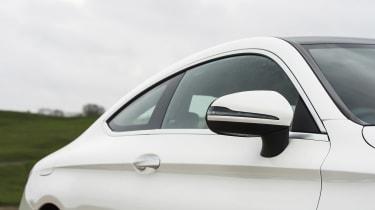 Mercedes C-Class Coupe - roofline