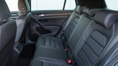 Used Volkswagen Golf R - rear seats