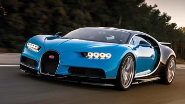 Bugatti Chiron 2016 - Front Dynamic