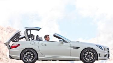 Mercedes SLK55 AMG profile