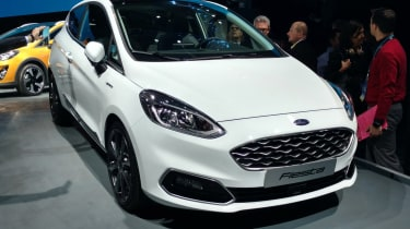 New 2017 Ford Fiesta Vignale - presentation front
