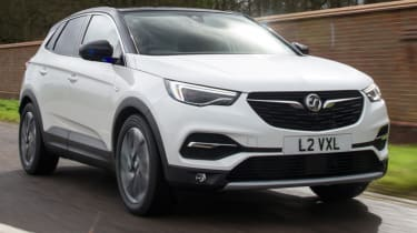 Vauxhall Grandland X new Ultimate trim front