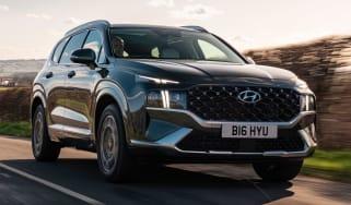 Hyundai Santa Fe Hybrid - front