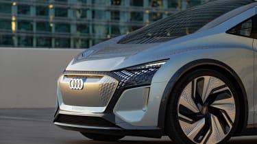 Audi AI:ME concept - front detail