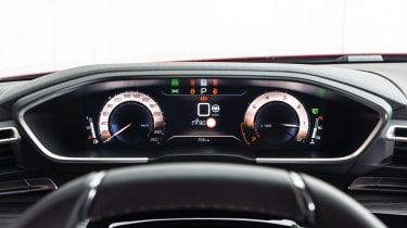 Peugeot 508 - speedo