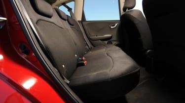 Honda Jazz Si rear seats