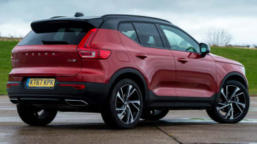 Volvo XC40 rear static