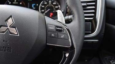 Mitsubishi Outlander - steering wheel detail