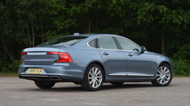 Volvo S90 - UK rear static