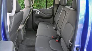 The Navara has only been awarded a three-star Euro NCAP rating.