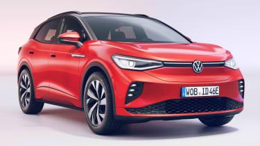 Volkswagen ID.4 GTX - front