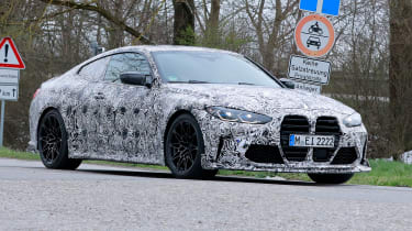 BMW M4 CS 2021 spy