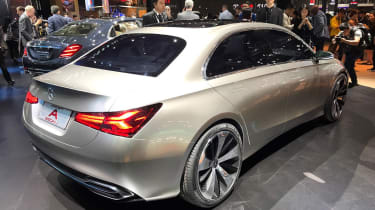 Mercedes Concept A rear