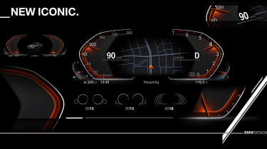 New BMW iDrive tech - iconic
