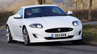 Jaguar XKR front cornering