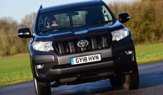 Toyota Land Cruiser Utility Commercial - front cornering
