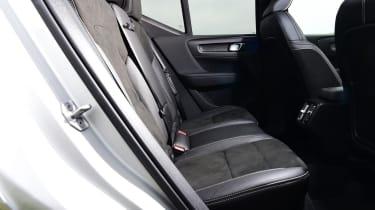 Volvo XC40 rear seats