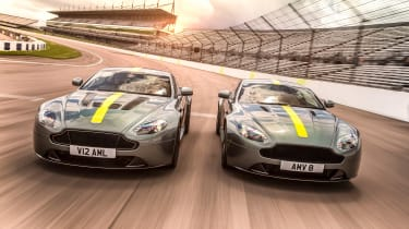 Aston Martin Vantage AMR specials - front
