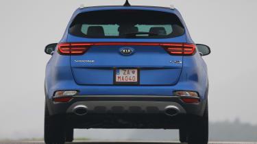 Kia Sportage 48V hybrid - full rear