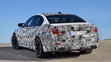 BMW M5 prototype - rear static