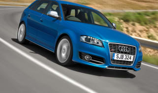Audi S3 Sportback front tracking
