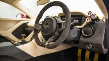 TVR Griffith - dash