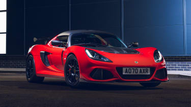 Lotus Exige Final Edition - red