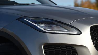 Jaguar E-Pace review - headlight