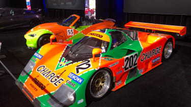Mazda racecar - LA Motor Show