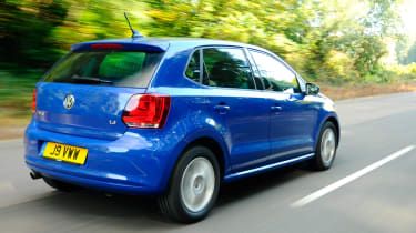 Volkswagen Polo 1.4 rear tracking