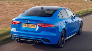 Jaguar XE Reims Edition - rear action