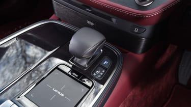Lexus LS - centre console