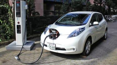 Nissan Leaf Charging Point
