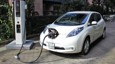 Nissan Leaf Charging Point