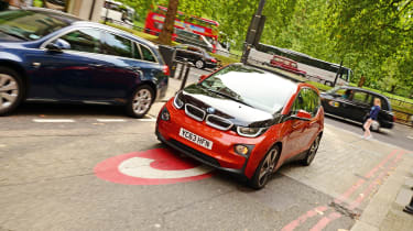 BMW i3 congestion charge