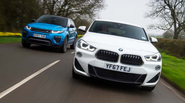 Range Rover Evoque vs BMW X2