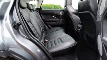 Range Rover Evoque rear seats