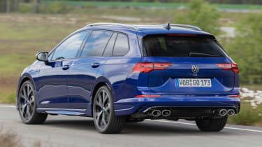 Volkswagen Golf R Estate - rear cornering