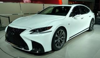 Lexus LS F - New York show front