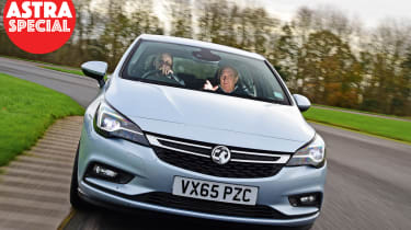 Vauxhall Astra - driving coach