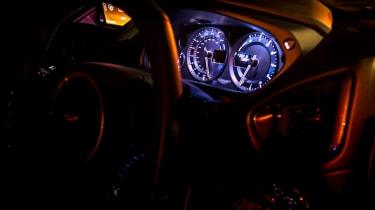 Aston Martin Vanquish Zagato - dials