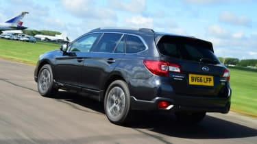 Used Subaru Outback - rear action