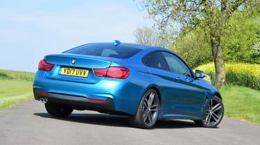 BMW 420d M Sport - rear static