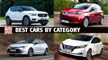 Best cars by category