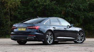 Audi A6 - rear static